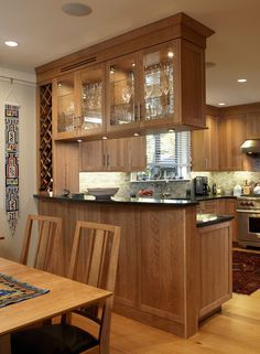 28 Small Kitchen Ideas Everyone Should Keep kitchen kitchen cabinets kitchen design cabinet Kitchen Bar Design, Dining Room Design, Home Decor Kitchen, Interior Design Kitchen, Home Kitchens, Kitchen Ideas, Kitchen Small, Dining Rooms, Small Dining