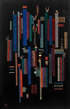 Vassily Kandinsky - Jeu des verticales