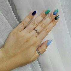 MY WORK  July 2017. #pinterestnails #nails #holidaysnails #vacationnails #ombrenails #longnails