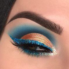 Gorgeous Makeup: Tips and Tricks With Eye Makeup and Eyeshadow – Makeup Design Ideas Makeup Eye Looks, Beautiful Eye Makeup, Eye Makeup Art, Gorgeous Eyes, Cute Makeup, Eyeshadow Makeup, Makeup Inspo, Beauty Makeup, Eyeliner