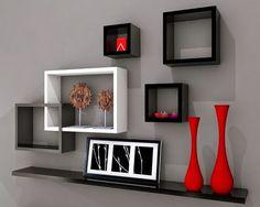 50 Desain Rak Dinding Minimalis (Termasuk Rak Buku)   Desainrumahnya.com