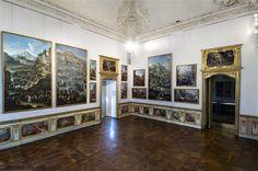 In Camera Nuova è invece esposta la serie dei famosi dipinti di genere di Giovanni Michele Graneri e Domenico Olivero, raffiguranti scene quotidiane e vedute di Torino.