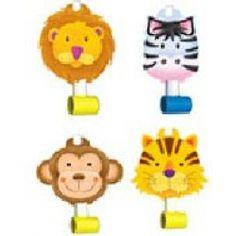 Jungle Safari Party Blowouts - Jungle Safari Party Partyware
