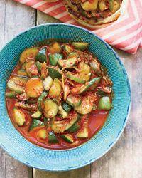 Quick Cucumber Kimchi Recipe on Food & Wine #SpicyFourthofJuly