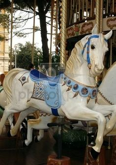 Free Pictures Of Carousel Horses Carrousel, All The Pretty Horses, Beautiful Horses, Mary Go Round, Merry Go Round Carousel, Carosel Horse, Wooden Horse, Painted Pony, Horse Art