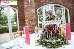 Flower Power was lucky enough to design the flowers for the traditional Asian wedding ceremony of Rakhi and Hiren.