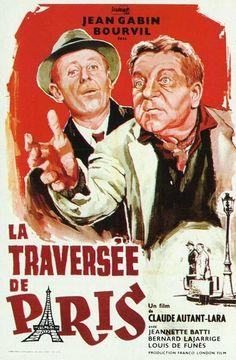 A Travessia de Paris (La traversée de Paris, Itália / França, 1956) - Claude Autant-Lara