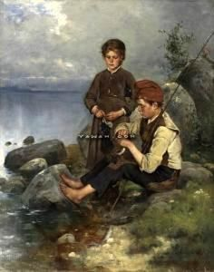 Children By The Water, Axel Ender   (+++)