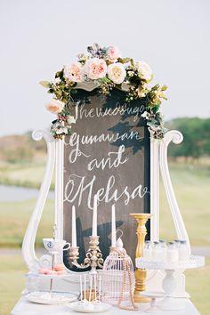 Wedding Decoration & Details | Wedding pews, Wedding blush and DIY ...