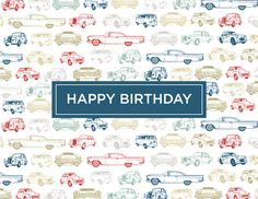 Cars Birthday by Kelp Designs on Postable.com