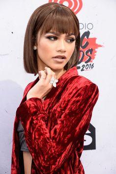 Zendaya at the iHeartRadio Music Awards in LA 4/3/16