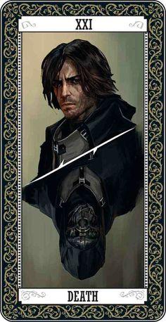 Corvo tarot card
