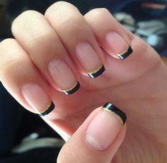 Saints nails