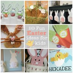 Fun Easter ideas to do with your kids!