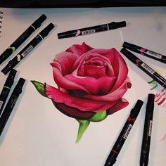 Behind The Scenes By art_spotlight Drawing Tips, Love Art, Behind The Scenes, Drawings, Artwork, Artist, Rose, Spotlight, Image