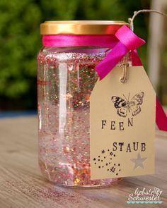 liebste schwester: Mottoparty - Feengeburtstag, Feenstaub, Kindergeburtstag
