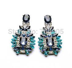 Design elegante cristal brincos para mulher jóias em Brinco de brilhante de Jóias no AliExpress.com | Alibaba Group