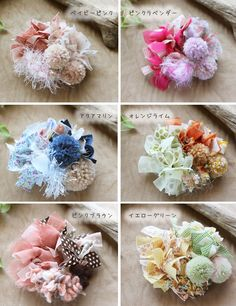チビシュシュ【シュシュ】手作り・ハンドメイドキッズヘアアクセサリー Ribbon Art, Ribbon Bows, Diy Hair Accessories, Handmade Accessories, Silk Flowers, Fabric Flowers, Handmade Crafts, Diy And Crafts, Fabric Crafts