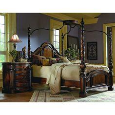 Canopy bedroom furniture | ... more home bedroom furniture bedroom sets la habana canopy bedroom set