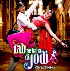 Rab ne bana di jodi... A match made by God. Sigh, Bollywood love <3  One of the best movies ever!!!!!!!