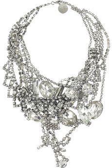 multi-strand diamond necklace. oh me oh my ...