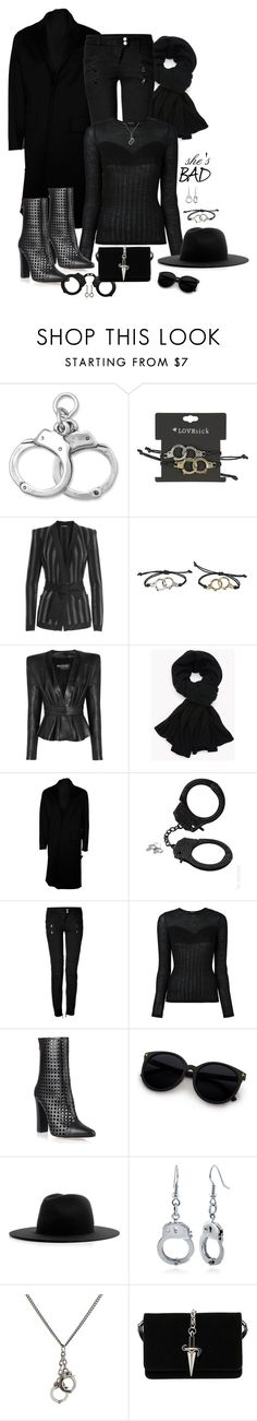 """Criminal Intent"" by christy-leigh-1 ❤ liked on Polyvore featuring BillyTheTree, Balmain, Valentino, La Senza, Études, BERRICLE, King Baby Studio and Cesare Paciotti"