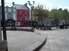 Market Square, Donegal Town.
