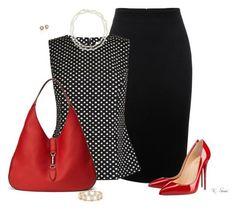 Черный + Красный + Белый: 8 стильных формул для успешного гардероба
