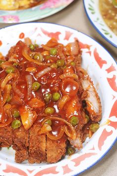海南炸猪排 Hainanese Deep Fried Pork Chops