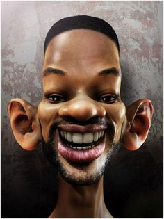 Will Smith Caricatures