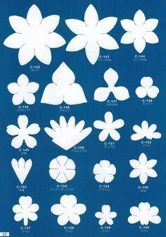 Шаблоны для цветочного рукоделия. Обсуждение на LiveInternet - Российский Сервис Онлайн-Дневников