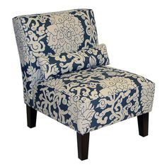 I pinned this Brooklyn Side Chair in Athens Smoke from the Jentertaining event at Joss and Main!