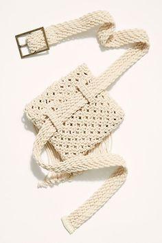 Slide View Beach Flower Belt Bag Source by cakorstad bags Crochet Belt, Bead Crochet, Crochet Stitch, Macrame Bag, Macrame Knots, Macrame Mirror, Macrame Curtain, Macrame Patterns, Crochet Patterns