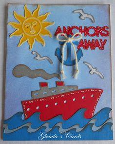 Glenda's Cards: Cricut Life is a Beach