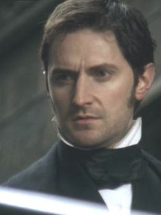"""""""Miss Hale denies she was there ?"""" North and South, ep 03 Mr Thornton - Richard Armitage Elizabeth Gaskell, Vicar Of Dibley, John Thornton, Mr Right, Cinema, Perfect Movie, Mr Darcy, Human Soul, Cute Actors"""