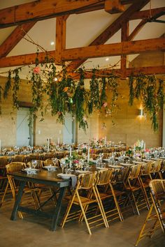 Reception styled by Frank & Joy, florals by Bower Botanicals