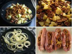Crockpot stuffed pork chops