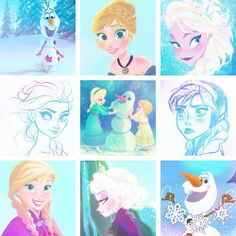 Frozen icons     Disney, Princess Anna, Olaf, Queen Elsa, Arendelle