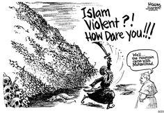 Mohammed cartoons.
