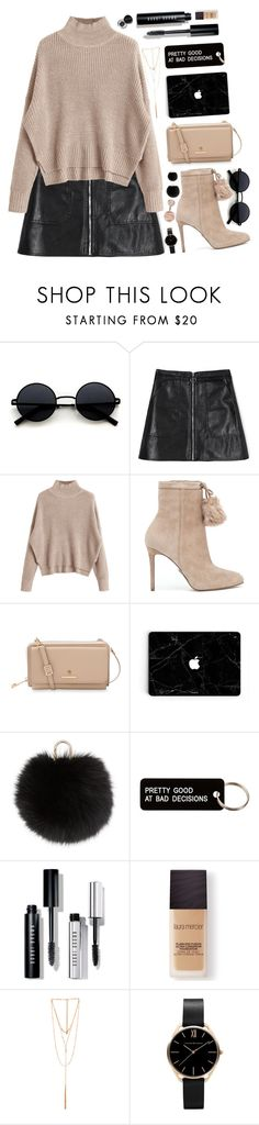 """// i've been trying to fix my pride //"" by golden-elixr ❤ liked on Polyvore featuring MICHAEL Michael Kors, Spartina 449, Yves Salomon, Various Projects, Bobbi Brown Cosmetics, Laura Mercier and Ettika"