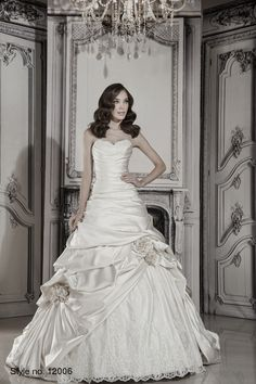 #pnina_tornai #bridal dress style no. 12006 front