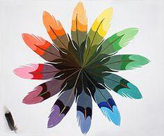 Unique Art Color Wheel Designs