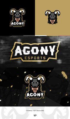 """Auf @Behance habe ich dieses Projekt gefunden: """"Agony Esports Mascot Logo"""" https://www.behance.net/gallery/42246429/Agony-Esports-Mascot-Logo"""