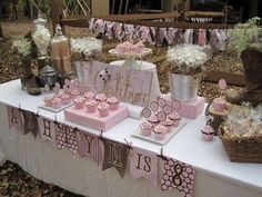 Pink cowgirl Birthday Party Ideas | Photo 1 of 47 | Catch My Party