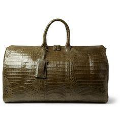 Santiago Gonzalez Crocodile Holdall Bag, $4,975.00| MR PORTER