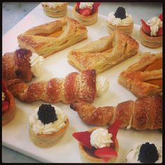 puff pastry platter