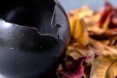 Ceramic Eggshell Pot By ClaybyDannah Succulent Planters, Indoor Planters, Ceramic Planters, Succulents, Votive Candle Holders, Eggshell, Black Decor, Cactus, Pottery