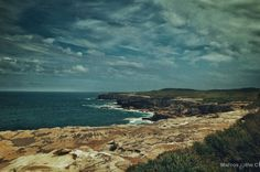Winter afternoon picnic near the cliff - Australia. Click picture to see the full image. Check out my page for more travel, nature and landscape photography projects.