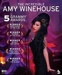 En esta imagen vemos el gran éxito de la artista en los Grammy de 2008, una de sus mejores etapas musicales obteniendo cinco galardones. Entre ellos, destacan el premio a mejor canción y mejor artista femenina.