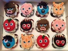 #cupcakes #moshimonsters
